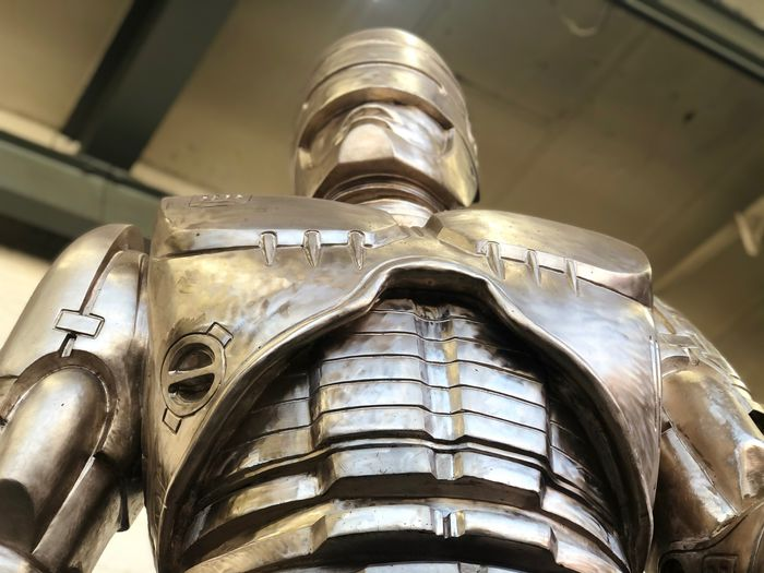 Detroit's giant RoboCop statue is real and it's spectacular, at 11 feet, 2.5 tons