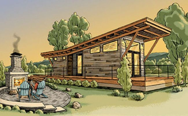 High End Tiny House Settlement Planned For Michigan Rv
