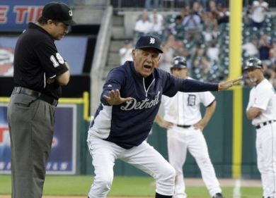Detroit Tigers beat Toronto after manager Jim Leyland is ejected (with  video) - mlive.com