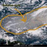 Saharan Dust Cloud Heading Toward U S Brings A Silver Lining Mlive Com