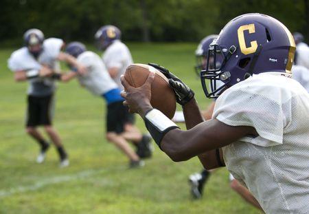 Concord High School football practice