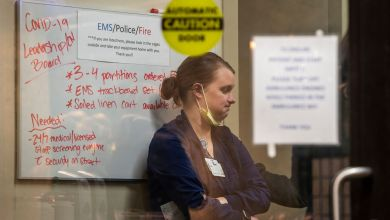 Delayed care and surge in coronavirus cases overwhelms Michigan hospitals for a third round