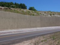 Cast-in-Place Curved Retaining Wall  MLL Concrete, Inc.