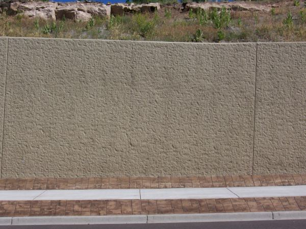 Cast-in-place Curved Retaining Wall Mll Concrete