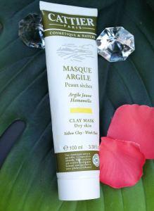 Masque argile peau sèche CATTIER
