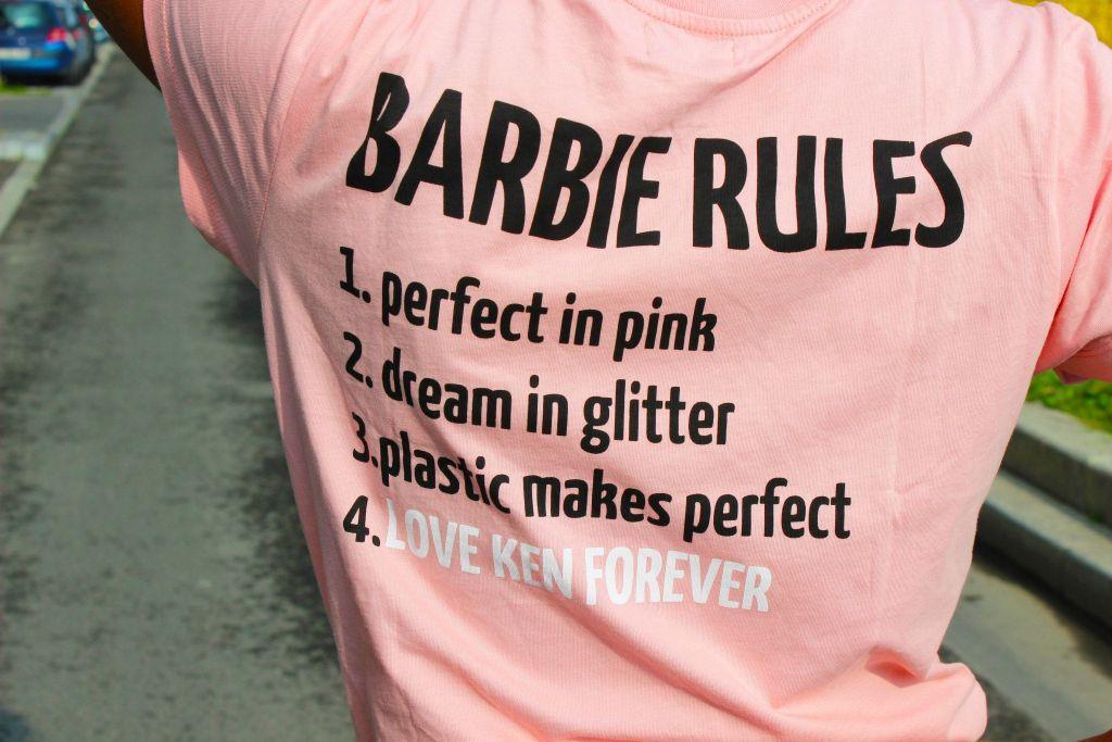 T-shirt Barbie Zara