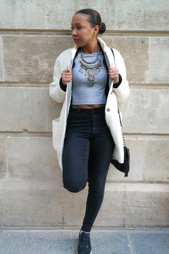 street style casual ultra feminin