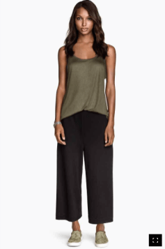 Pantalon court ample H&M 19,90€