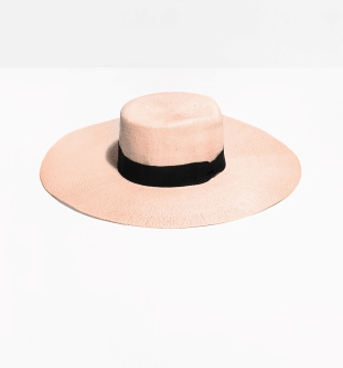La chapeau paille à bord long & OTHER STORIES 25€