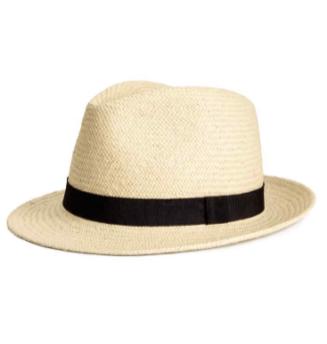 Chapeau de paille 9,90€ H&M