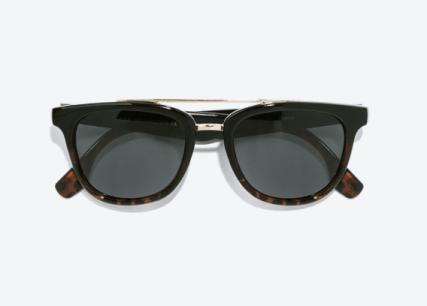 Les lunettes de soleil à pont 22,95€ ZARA