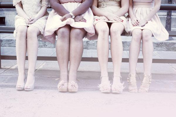 Comment choisir ses filles d'honneur, tŽ mouines, tenues des bridesmaid. Chateau Domaine Tremblay sur Mauldre, organisation de mariage Ameliage wedding planner