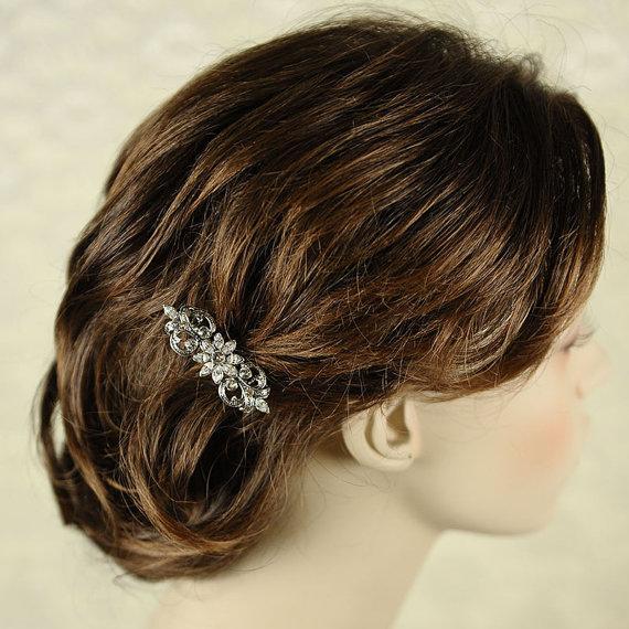 peigne cheveux pour chignons mariage