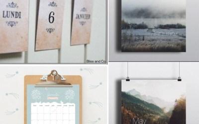 Le calendrier 2015 de Dellus * cadeau inside *