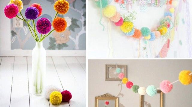 mariage-pom-poms-decoration