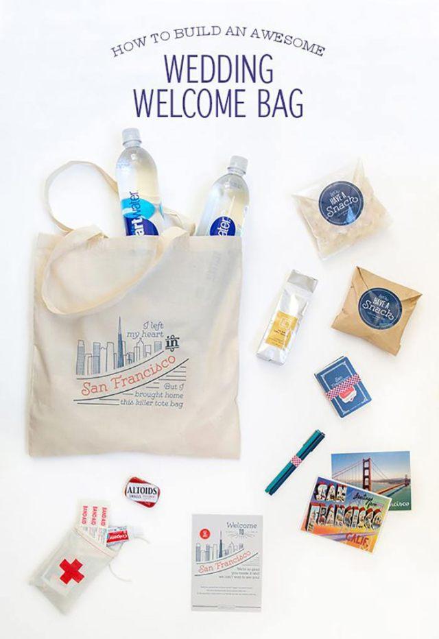 Le sac de bienvenue, nouveau cadeau d'invité