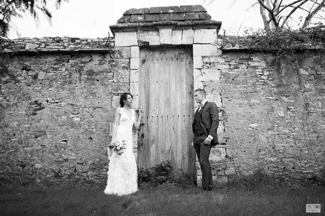 Les-mariés-en-noir-et-blanc