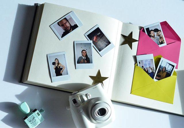 Un polaroid pour mon livre d'or