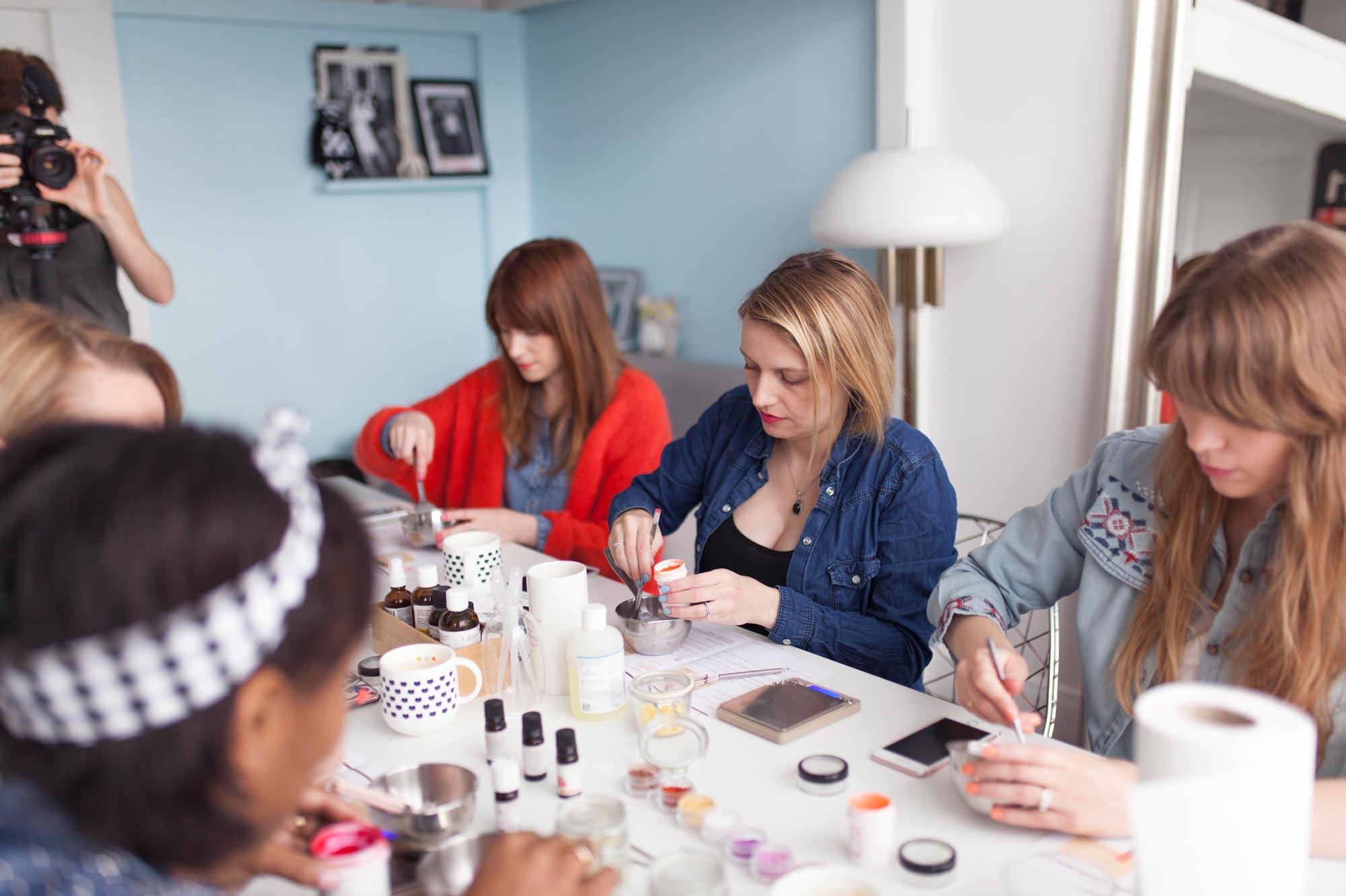 evjf atelier cosmétique