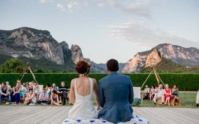 Un mariage au coeur de la Drôme Provençale