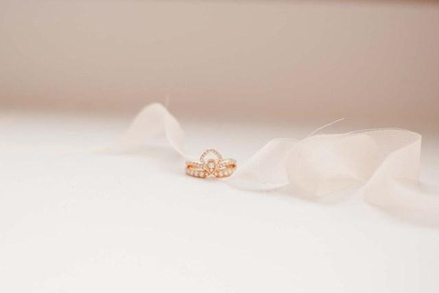 mariage rose et or