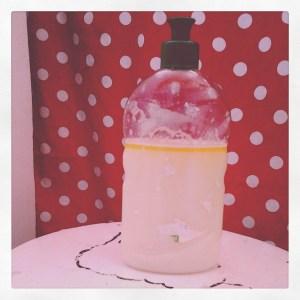 test liquide vaisselle au savon noir maison