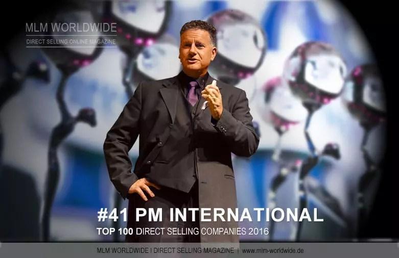 PM International auf Platz 41 unter den TOP 100 Direct Selling Companies