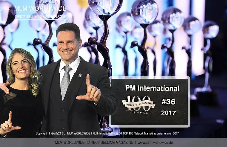 PM-International auf #36 unter den TOP 100 MLM-Unternehmen 2017