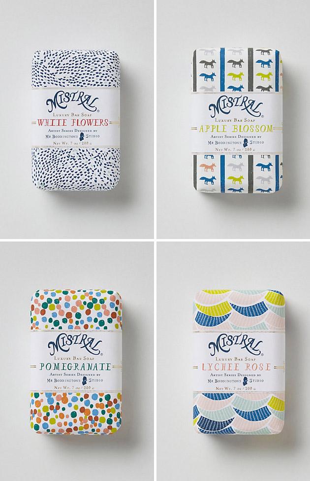 Packaging Jabón, Mr. Boddington's Mistral Soap by Mr. Boddington's Studio