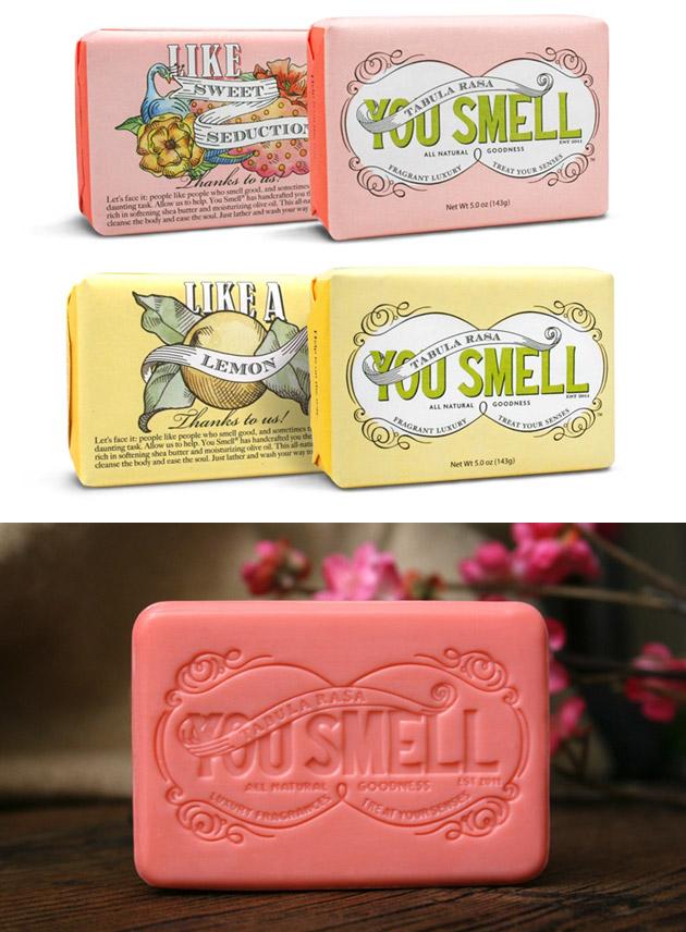Packaging Jabón, You Smell Soap