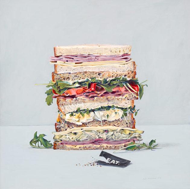 Eat sandwiches by Penkman