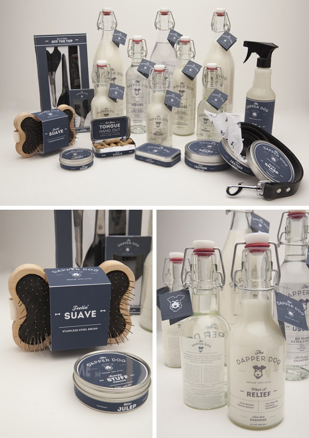 Packaging animales - pets - The Dapper Dog