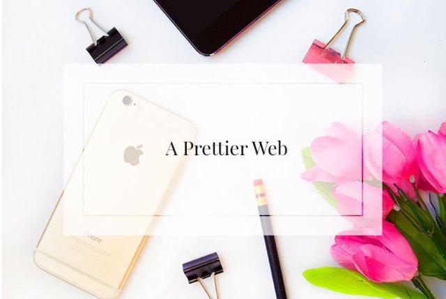 A prettier web