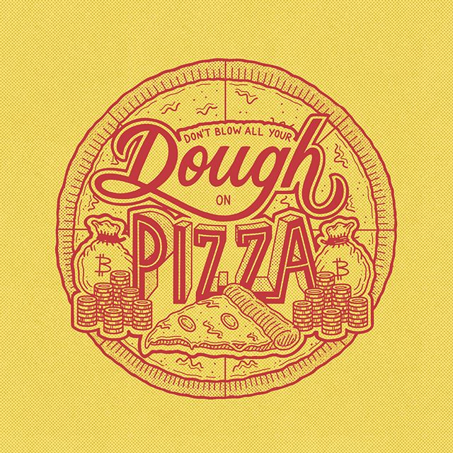 """Don´t blow all your dough on pizza"" by Perspective Collective | 10 consejos para crear imágenes con citas | mlmonferrer.es"