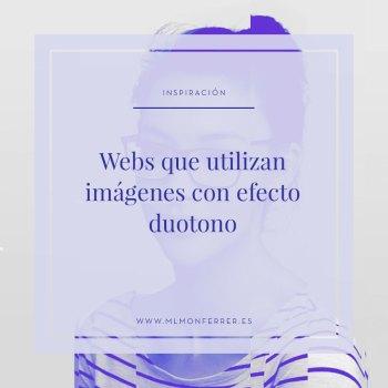 Inspiración | Webs que utilizan imágenes con efecto duotono
