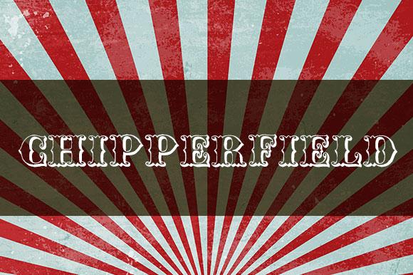 Fuentes gratuitas inspiradas en el circo  |  Chipperfield and Bailey |  mlmonferrer.es