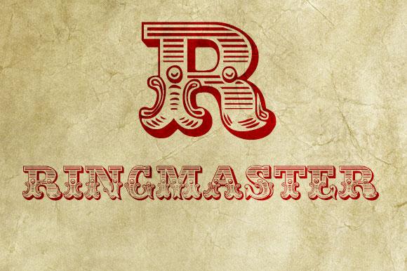 Fuentes gratuitas inspiradas en el circo  |  JF Ringmaster  |  mlmonferrer.es