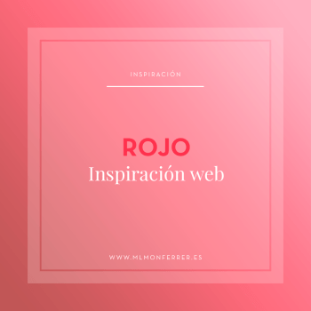 Inspiración web rojo