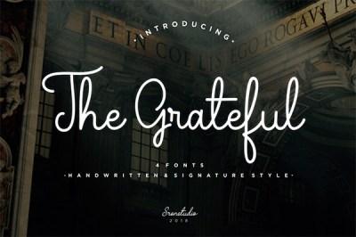 The Grateful font | Recursos gratuitos de junio para diseñadores  | mlmonferrer.es