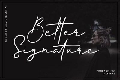 Better Signature | Recursos gratuitos de julio para diseñadores | mlmonferrer.es