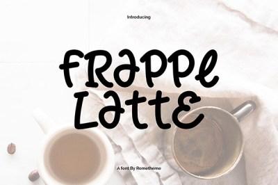 Frappe Latte Font | Recursos gratuitos de julio para diseñadores | mlmonferrer.es