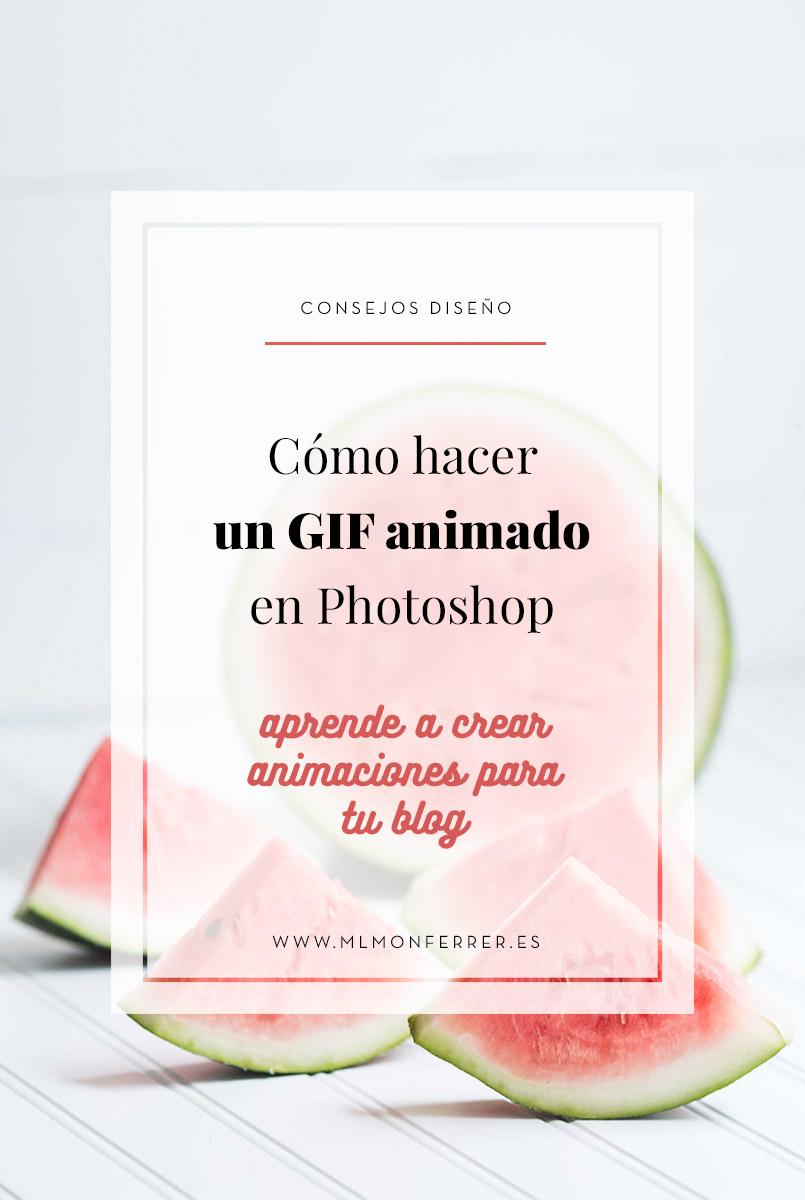 En este tutorial aprenderás como hacer una animación en Photoshop para tu blog   |   www.mlmonferrer.es