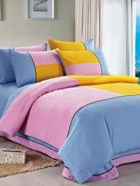 Trendy Multicolor Color-Block Cotton 4-Piece Adult's ...