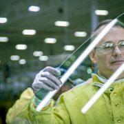 industrial | North Carolina plant | glass | LoBiondo Photography| reflections