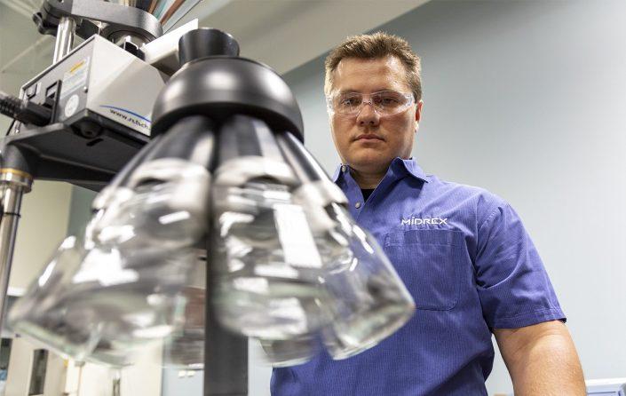 Chemical metals industrial testing