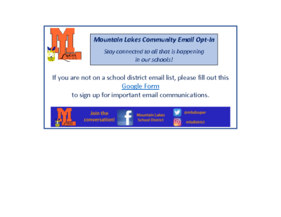 School District Email Sign Up