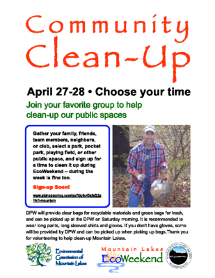 Community Clean Up – ML Environmental Commission