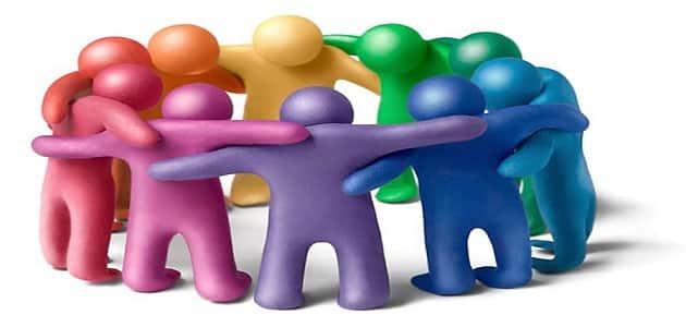 بحث كامل عن التعاون بين الناس ملزمتي
