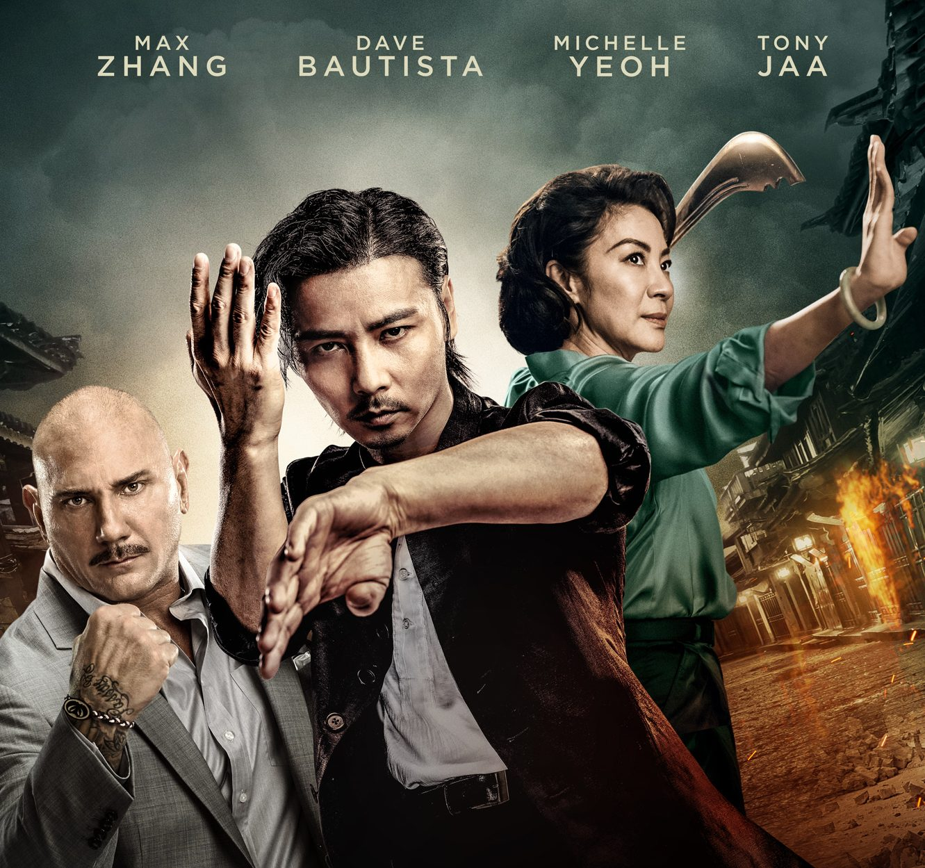 Dave Bautista, Michelle Yeoh, Tony Jaa team up to star in Master Z: IP Man Legacy