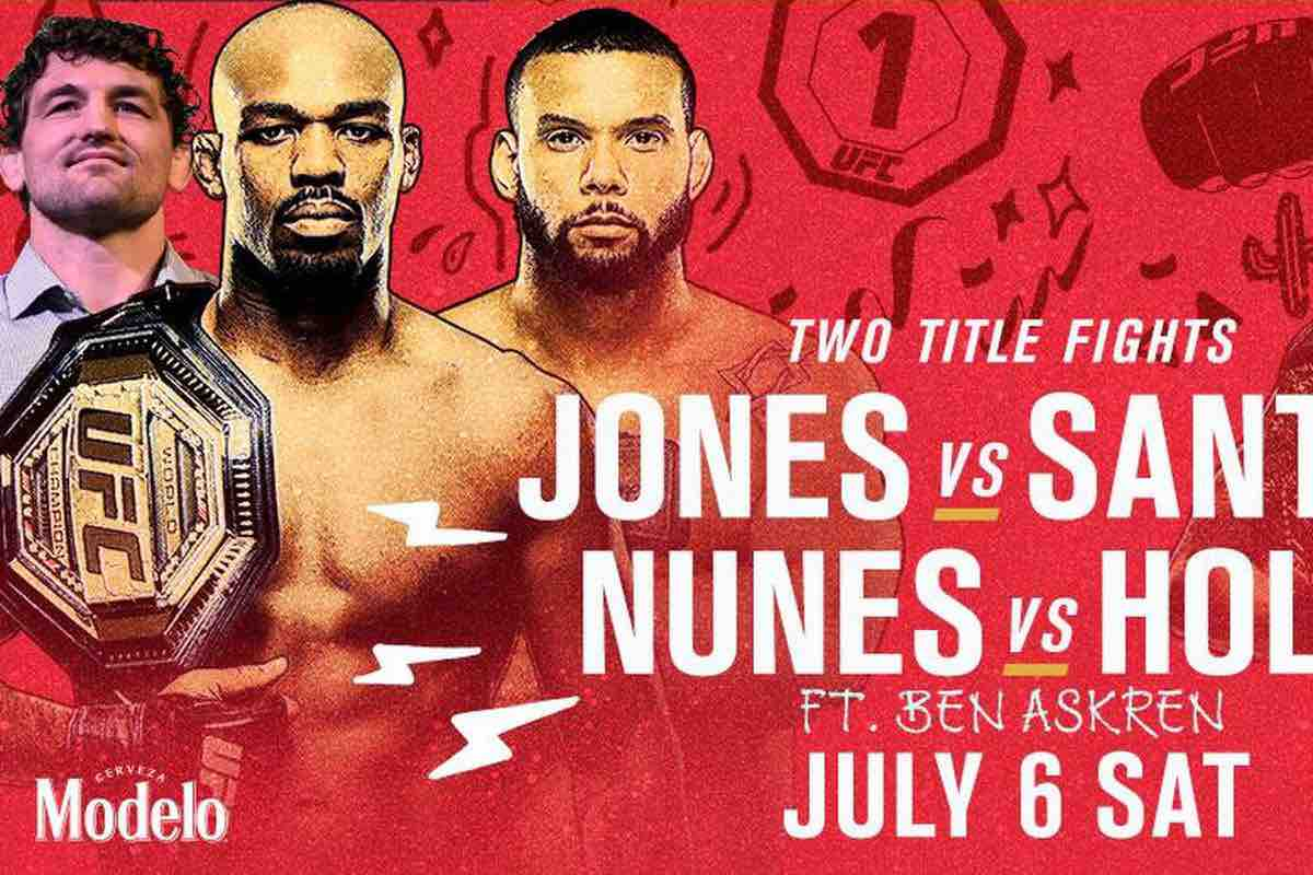 UFC 239: Jones vs. Santos predictions